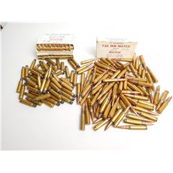 7.62 NATO LAKE CITY MATCH FMJ AMMO AND CASES