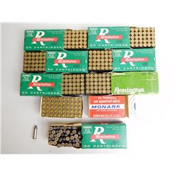 ASSORTED LOT OF 38 SPL AMMO AND BRASS