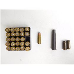 30 MAUSER CARTRIDGES AND .303 CHAMBER INSERT