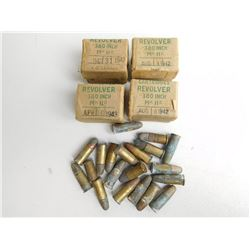 WWII DATED 1942-43   .380/200  AMMO