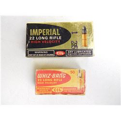 ASSORTED LOT OF 22 LR AMMO