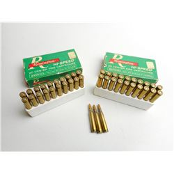 ASSORTED LOT OF 222 REMINGTON MAG RELOAD AMMO