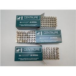 CENTAURE 38 SPL RELOAD AMMO AND BRASS