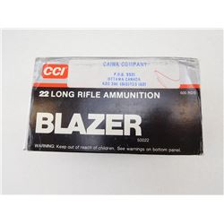 CCI BLAZER .22 LONG RIFLE 40GR HIGH VELOCITY AMMO