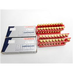 FEDERAL 300 SAVAGE 150 GR HI-SHOK SOFT POINT AMMO