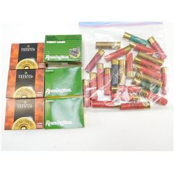 ASSORTED LOT OF 12GA X 3 1/2 SHOTGUN SHELLS INCLUDING FEDERAL, REMINGTON