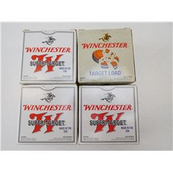 WINCHESTER SUPER-TARGET AND TARGET LOAD 20 GA X 2 3/4 7 1/2 SHOT SIZE SHOTGUN SHELLS