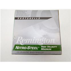 REMINGTON NITRO-STEEL 12 GA X 3 1/2 BB SHOT HIGH VELOCITY MAGNUM SHOTSHELLS