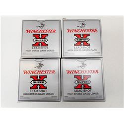 WINCHESTER HIGH BRASS GAME LOAD  LEAD SHOT 12 GA X 2 3/4 #6 SHOTSHELLS