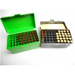 BARNES .25-06 100 GR AND 115 GR AMMUNITION IN PLASTIC HOLDERS
