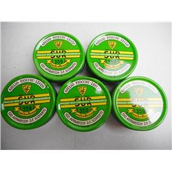 GUILIO-FIOCCHI LECCO 359 PERCUSSION CAPS 5 TINS NEW