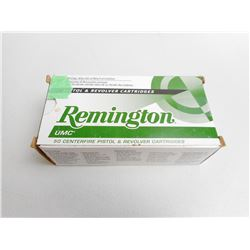 REMINGTON 38 SPL +P AMMO