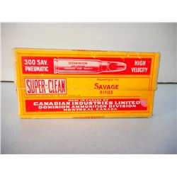 SUPER-CLEAN  CIL 300 SAVAGE PNEUMATIC SMOKELESS AMMUNITION