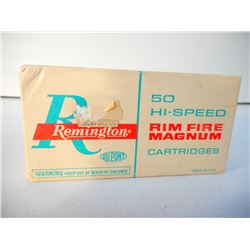 REMINGTON HI-SPEED 5MM RIM FIRE AMMUNITION