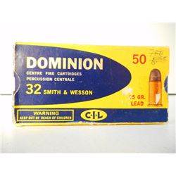 ASSORTED DOMINION 32 AMMO