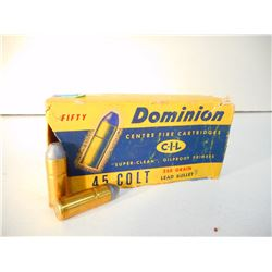 DOMINION 45 COLT AMMO