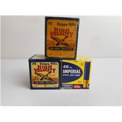 ANTIQUE ASSORTED .410 GA SHOTSHELLS