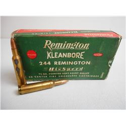 REMINGTON 244 REMINGTON AMMO