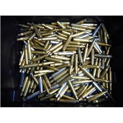 ASSORTED LOT OF 270 WIN BRASS CASES