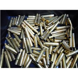 ASSORTED LOT OF RIFLE BRASS INCLUDING 505 GIBBS, 404, 500-450, 450-400 AND VARIOUS