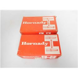 HORNADY 38 CAL 110-158 GRAIN .357 HOLLOW POINT BULLETS