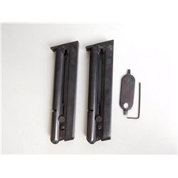S & W MOD 41 2 MAGAZINES AND 1 SIGHT ADJUSTMENT TOOL