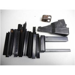 ASSORTED PLASTIC CLIPS AND PARTS