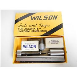 WILSON UNIVERSAL CASE TRIMMER WITH BURRING TOOL