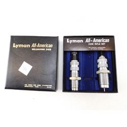 LYMAN DIE SET 222 REMINGTON MAG