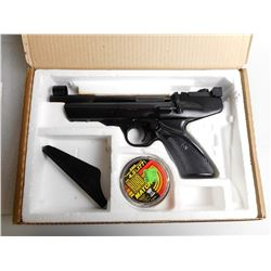 WEBLEY HURRICANE .177 AIR PISTOL SINGLE SHOT SN # 168129
