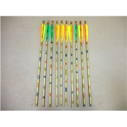 ASSORTED EASTON ARROWS (WITH NO HEADS)