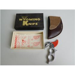 WYOMING SKINNING KNIFE WITH SHEATH