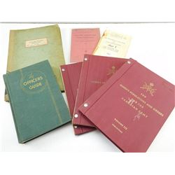 ASSORTED OFFICER'S & INSTRUCTIONAL BOOKS/ PAMPHLETS