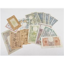 ASSORTED INTERNATIONAL BANK NOTES