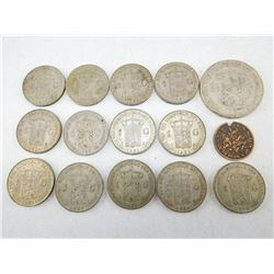 ASSORTED NETHERLAND COINS