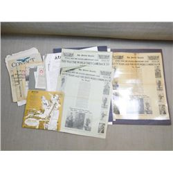 ASSORTED ARTICLES AND CLIPPINGS