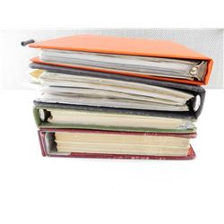 ASSORTED MILITARY BOOKS IN BINDERS