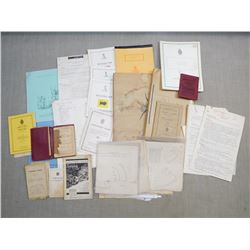 ASSORTED MILITARY MANUELS AND HANDBOOKS