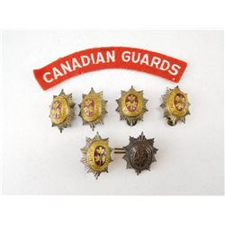 CANADIAN GUARD PINS