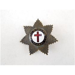 MASONIC KNIGHTS TEMPLAR BADGE