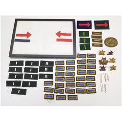ASSORTED CANADIAN MILITARY BADGES & PINS