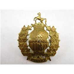 FIRST HUSSARS OF CANADA HAT BADGE