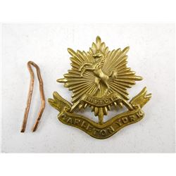 CARLETON YORK CAP BADGE