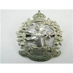 THE LORNE SCOTS CAP BADGE