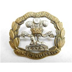 SOUTH LANCASHIRE EGYPT HAT BADGE
