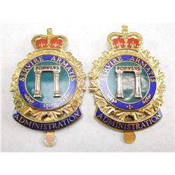 CANADIAN ARMED FORCES CAP BADGE