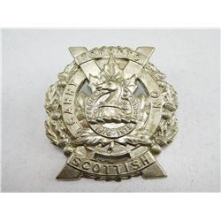 THE TORONTO SCOTTISH REGIMENT CAP BADGE