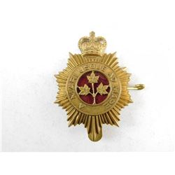 CANADIAN GUARDS CAP BADGE