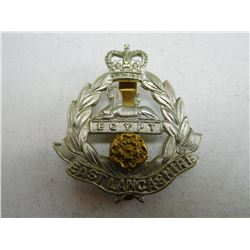 EAST LANCASHIRE REGIMENT CAP BADGE