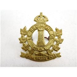LE REGIMENT DU HULL CAP BADGE